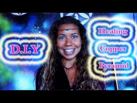 How To Build A Copper Pyramid - D.I.Y Pyramid Power | Francesca Love Artist 💜