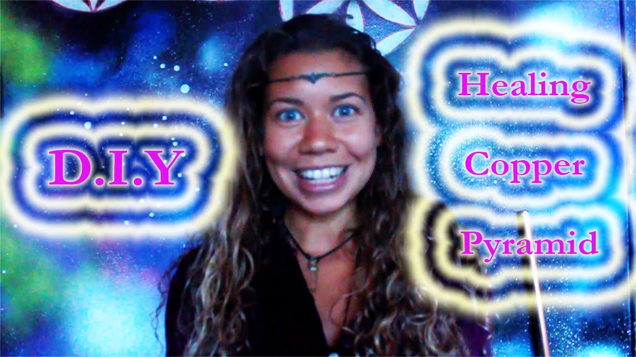 How To Build A Copper Pyramid - D I Y Pyramid Power | Francesca Love Artist  💜