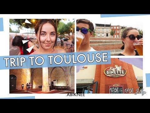 CITY BREAK VLOG | TOULOUSE | ABIKNEE