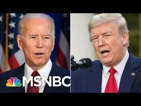 Biden Holds An Eight-Point Lead Nationally: Poll | Morning Joe | MSNBC