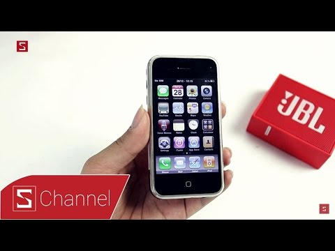 Schannel - Ngược dòng thời gian: iPhone 2G - Smartphone thay đổi cuộc chơi