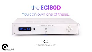 Electrocompaniet's ECi80D integrated amplifier scores multiple awards