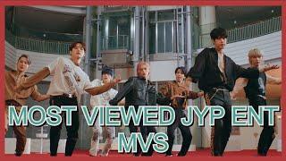 📌  COMMENT   [TOP 100] Most Viewed JYP Entertainment MVs - September 2020