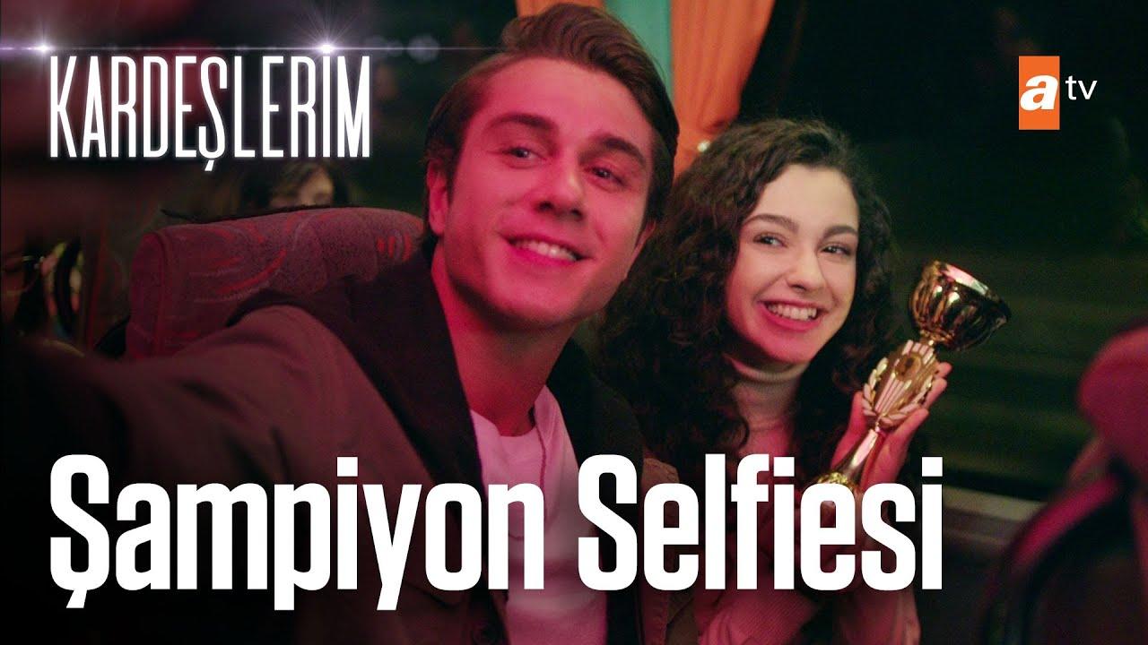 Asiye ve Doruk selfie çekiyor! – Kardeşlerim 7. Bölüm