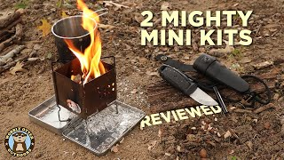 Review Morakniv Eldris Firesтarter Kit & Firebox Nano Stove X-Case Kit