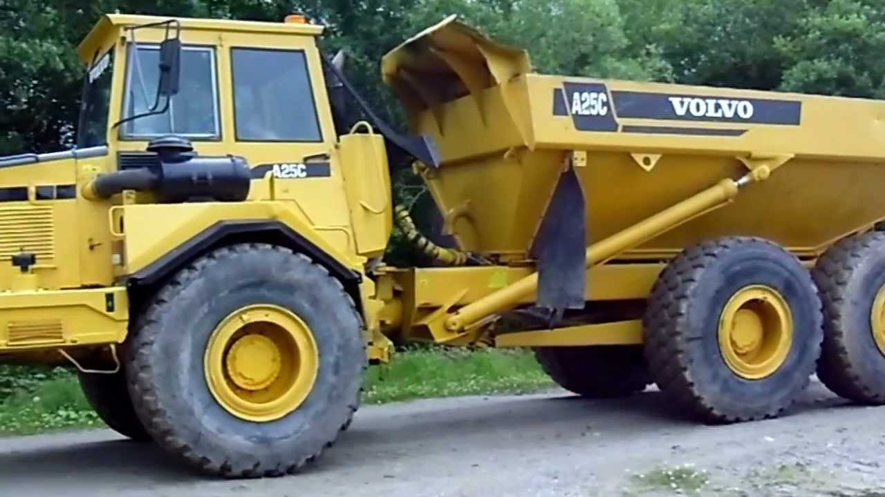 Volvo A25C Video 001 - YouTube