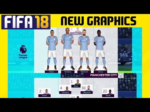 FIFA 18 New Features: New Premier League Graphics and Presentations