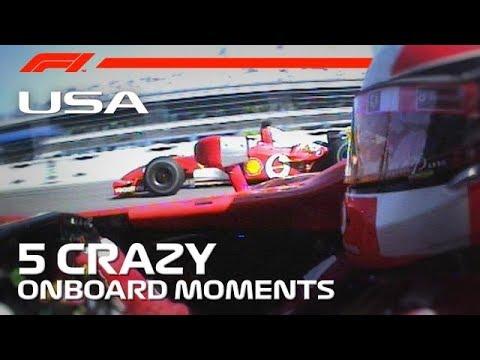 US Grand Prix | 5 Crazy Onboard Moments