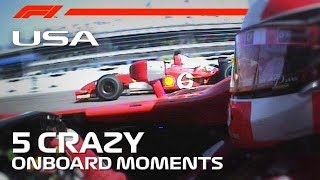 United States Grand Prix | 5 Crazy Onboard Moments