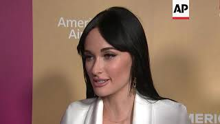 Ariana Grande, Alicia Keys, Janelle Monae walk Billboard Women pink carpet; honoree Kacey Musgraves
