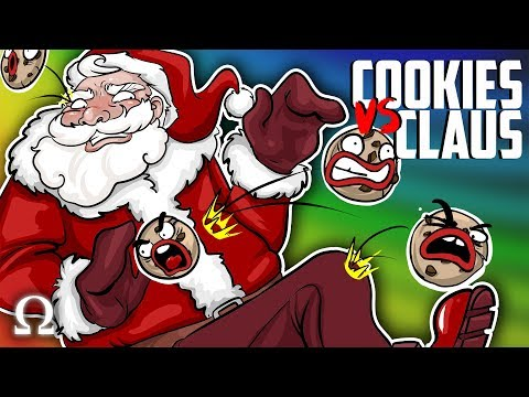 THE COOKIES STRIKE BACK! | Cookies vs Claus Santa Funny Moments Ft. Delirious, Cartoonz, Rilla