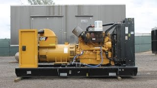 500 kW Caterpillar Diesel Generator  – Standby, Low-Hour Used #87017