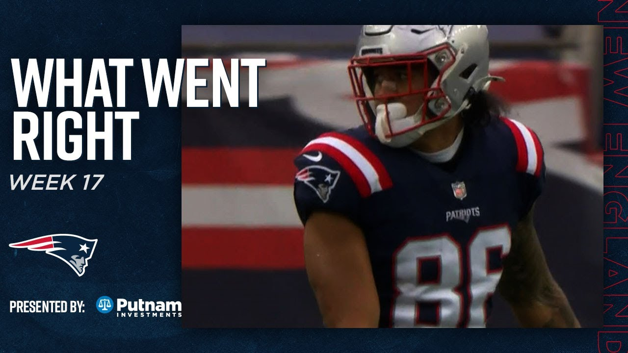 Devin Asiasi's 1st Career TD, J.C. Jackson's 9th Int & More | What Went Right vs. Jets (Patriots)