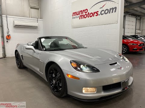 2013 Chevrolet SOLD SOLD SOLD Corvette Grand Sport 3LT 60th NAV HUD with just 38k kms! Munro Motors from YouTube · Duration:  7 minutes 15 seconds