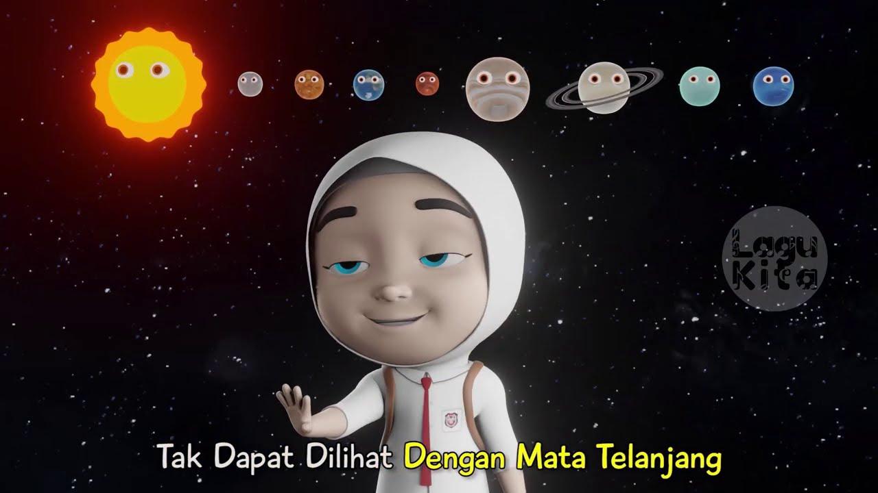 PLANET NEPTUNUS | 3D | Lagu Anak Indonesia | Lagu Kita