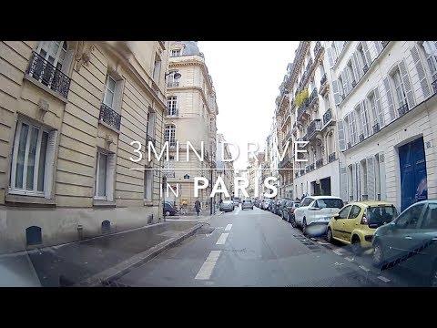 3min Drive in Paris HD 1080p 057 2017Nov.