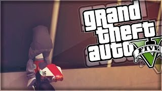 gta 5 funny moments   racing through buildings gta v online