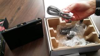 unboxing asus dsl ac68u modem wireless router