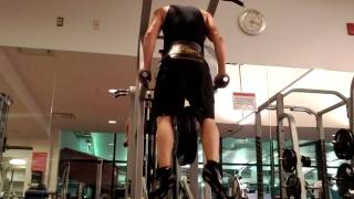 Weighted Dips 115 lbs at 160 lb bodyweght