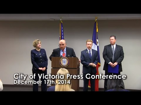 City of Victoria Press Conference - December 17th, 2014