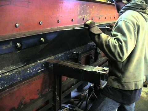 Presse Plieuse Hydraulique Fait Maison | Ventana Blog