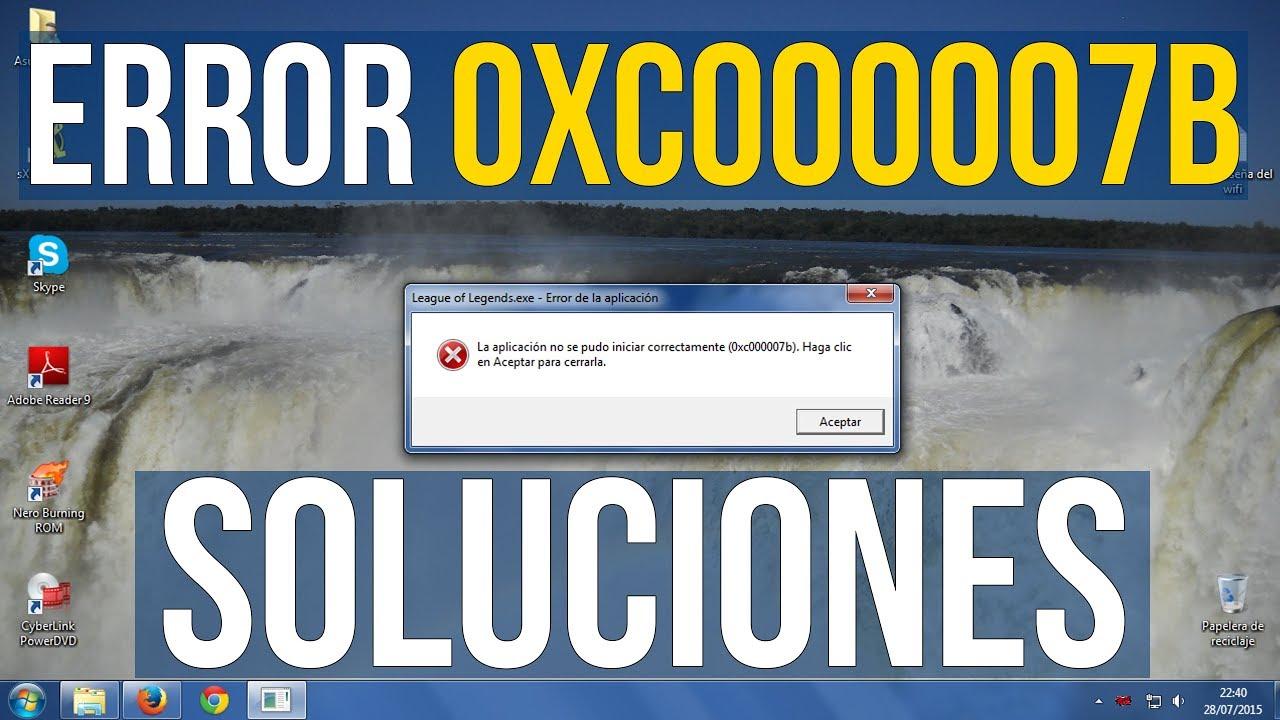 SOLUCIÓN Error 0xc000007b (Lo que funcionó) - Смотреть видео