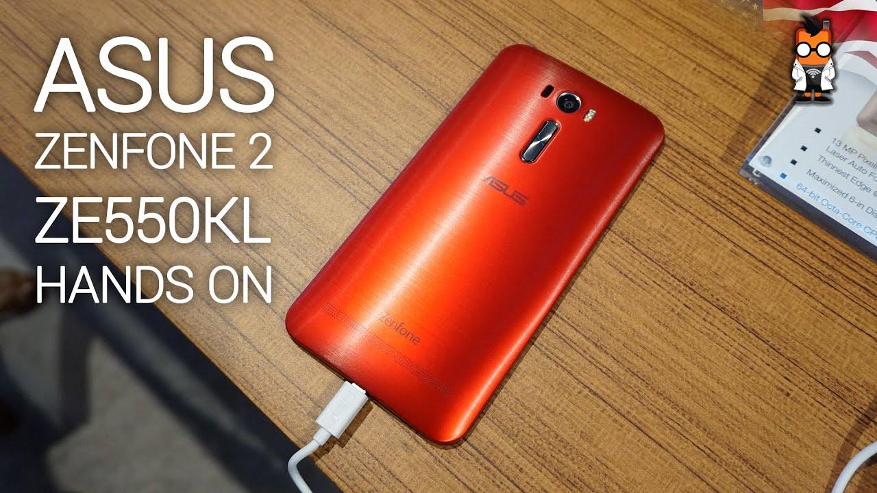 Asus Zenfone 2 Ze550kl With Snapdragon 410 Hands On