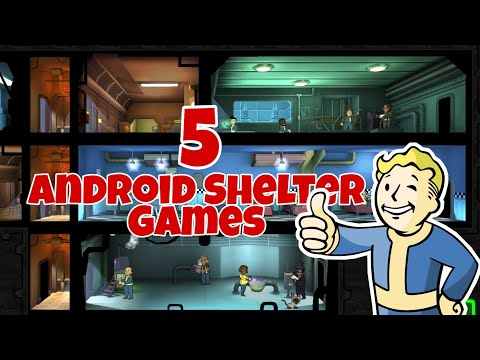 Top 5 Android Shelter Games|Survival, Raid, Like Fallout Shelter|Free At Play Store