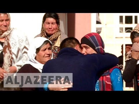 Yazidi women recall ISIL abuse