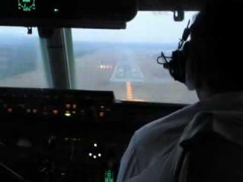 IL-96 landing