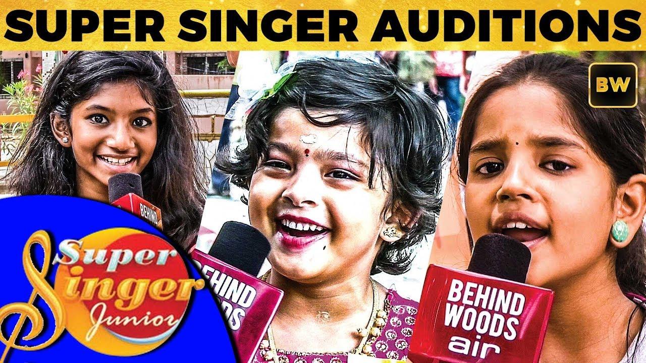 NEW SEASON: Vijay TV Super Singer Junior Auditions! | Exclusive | DC 205