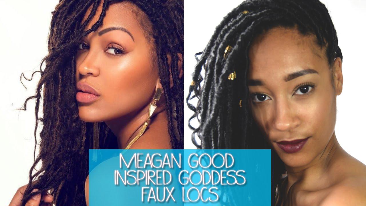 Meagan Good Goddess Faux Locs Youtube