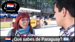 ¿Qué saben los ARGENTINOS de PARAGUAY? MIRA LO QUE RESPONDEN 😱 | Plaza del Congreso en Buenos Aires