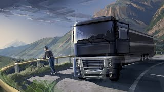 Euro Truck Simulator2 [FullHD|PC] #ETS2 Черговий рейс на 3 серваці й
