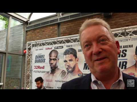 "FRANK WARREN - ""WHO CARES WHAT EDDIE HEARN SAYS"""