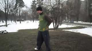 Видео обучение на боковое сальто (by Leito)