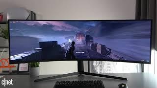 Samsung Gaming Monitor 'Odyssey G9' (C49G95T) - Test