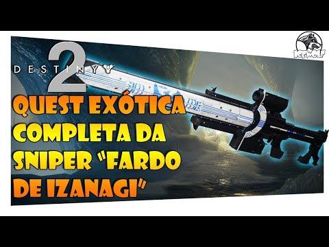 DESTINY 2 - COMO PEGAR A SNIPER FARDO DE IZANAGI | QUEST EXÓTICA COMPLETA / TIRANDO TODAS AS DÚVIDAS thumbnail