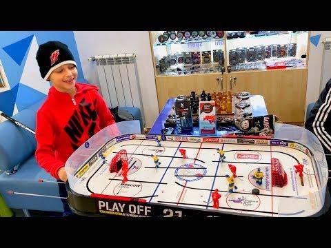 Бутылка воды Челлендж Настольный хоккей Хоккейный магазин Блог хоккеиста 3 серия