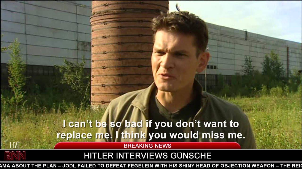 Hitler interviews Günsche