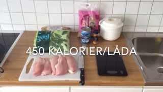 Food prep - 450 calories per box