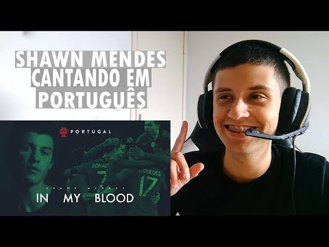 REAGINDO A Shawn Mendes x Portugal (FPF Official World Cup Song)