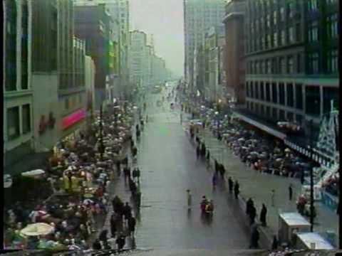 WDIV 1978 52nd Hudson's Thanksgiving Day Santa Parade Part 1 of 3