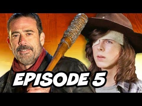 Walking Dead Season 7 Episode 5 - TOP 10 WTF and Easter Eggs
