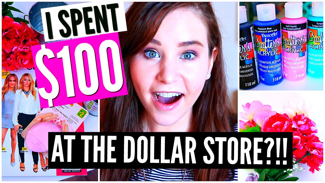 Dollar store diy room decor craft supplies haul youtube for Room decor haul