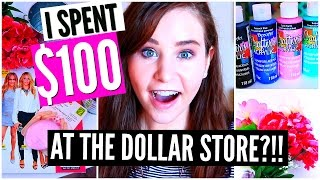 DOLLAR STORE DIY ROOM DECOR & ORGANIZATION HAUL