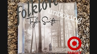 Unboxing Folklore Taylor Swift's New Album - In The Trees Deluxe Edition From Target