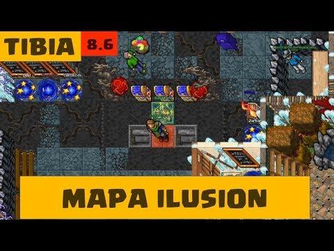 Mapa Ilusion 8 6 Open Tibia Server Youtube