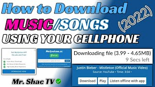 Download How to Download Free Music from android phone 2020 | Mr. Shac Tv