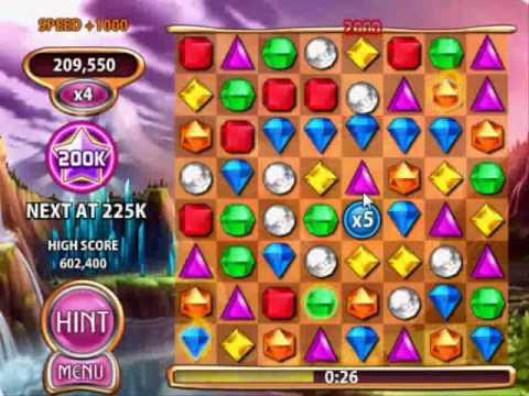 Bejeweled Blitz 878,550 Points 'Elite Technique' Legit No Boosts Facebook